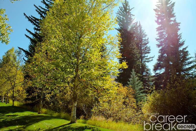 career break travel adventures in the US, Beaver Creek, Colorado