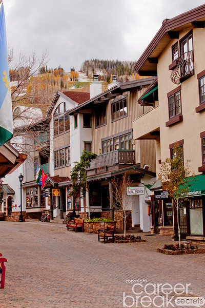 career break travel adventures in the US, Vail Colorado