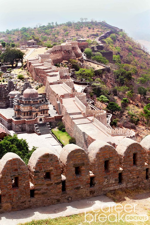 career break travel adventures in India, Kumbhalgarh