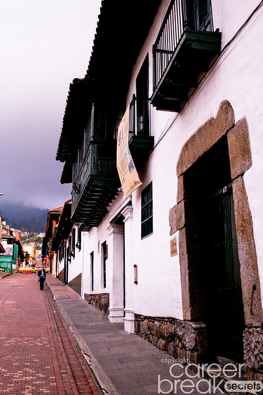career break travel adventures in Colombia, La Candelaria, Bogota