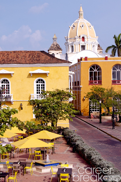 career break travel adventures in Colombia, Cartagena