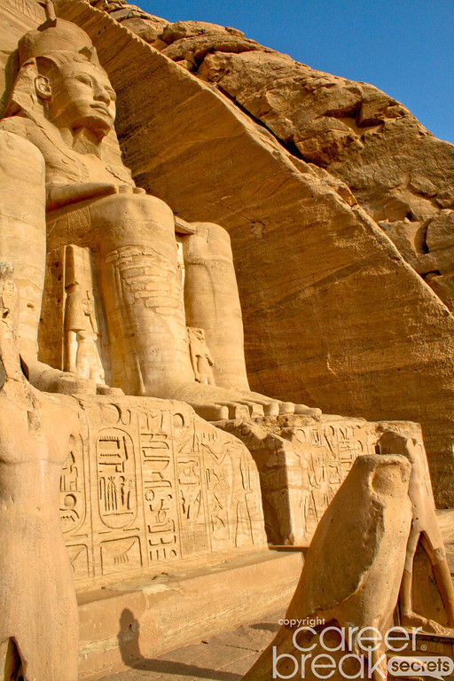 career break travel adventures in Egypt, Abu Simbel
