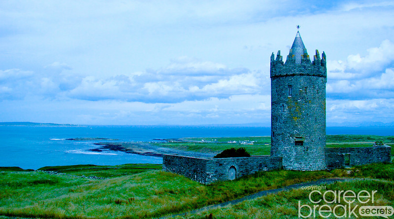 career break travel adventures in Ireland, Irish castles,