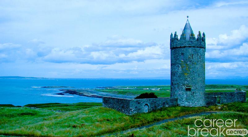 career break travel adventures in Ireland, Irish castles,