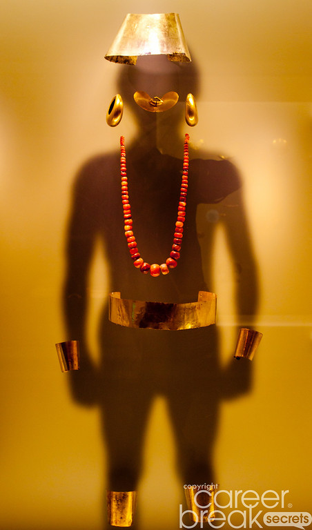 career break travel adventures in Colombia, Gold Museum Bogota, pre-colombian uses of gold