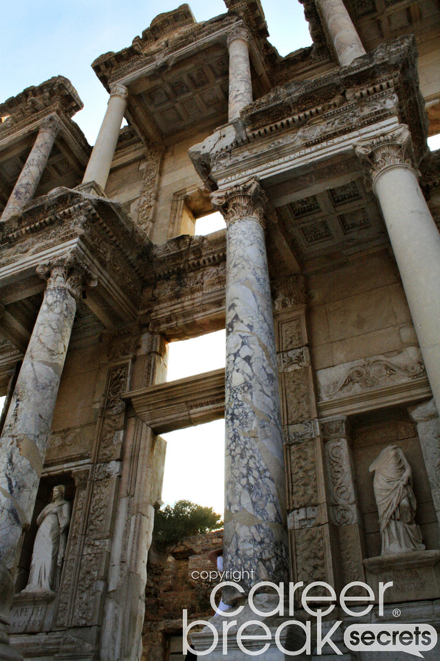 ephesus, career break travel adventures in Turkey