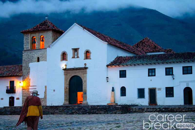 career break travel adventures in Colombia, Villa de Leyva