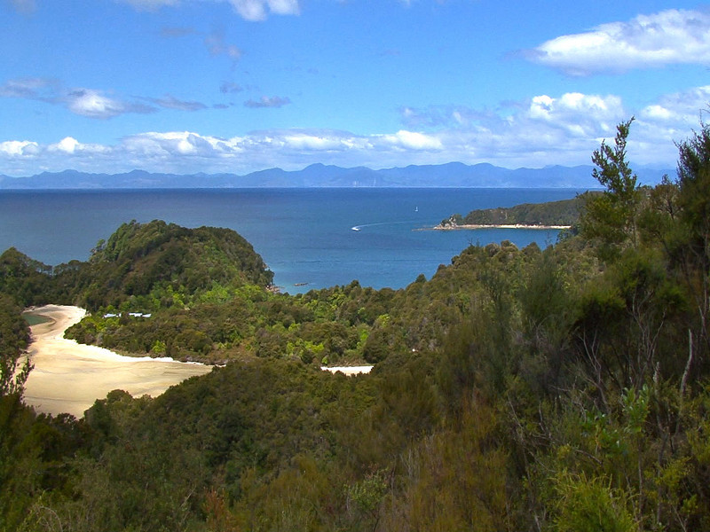 career break travel adventures in New Zealand, Abel Tasman park