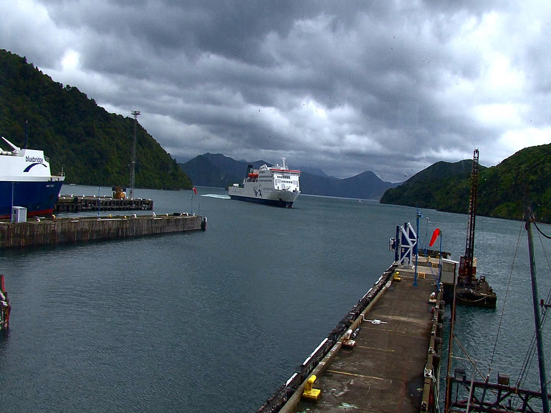 career break travel adventures in New Zealand, Interislander ferry