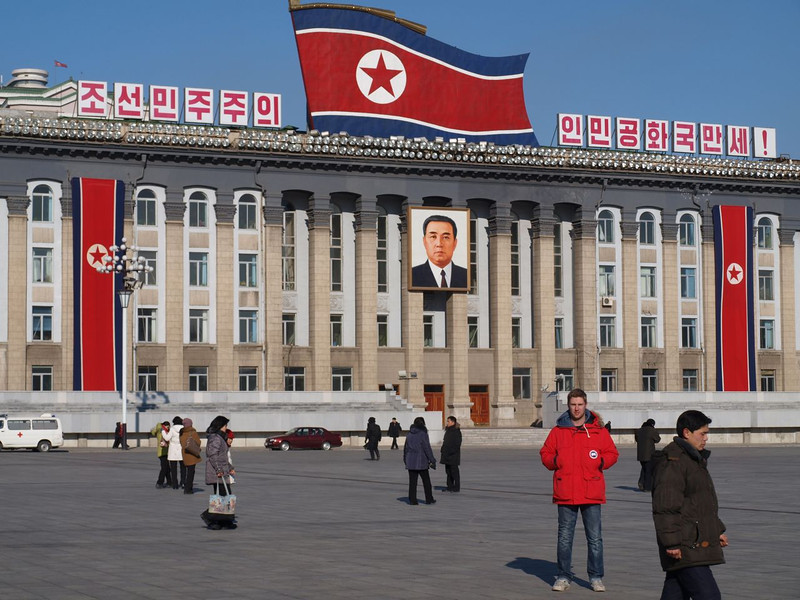 career break travel adventures in North Korea, Johnny Ward, 