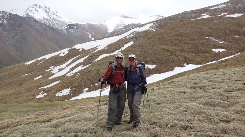career break travel in Kyrgyzstan, trekking the planet