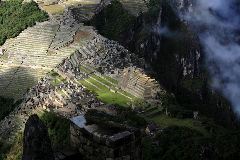 career break travel adventures in Peru, Wayne Picchu