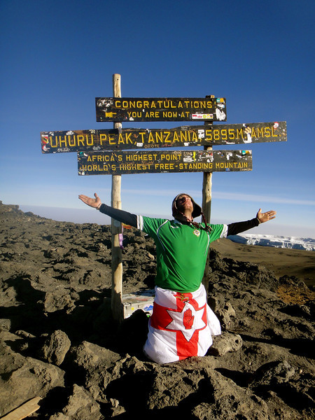 career break travela dventures in Tanzania, climbing Kilimanjaro, 