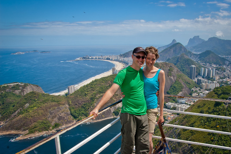 career break travel in Brazil, two oregonians