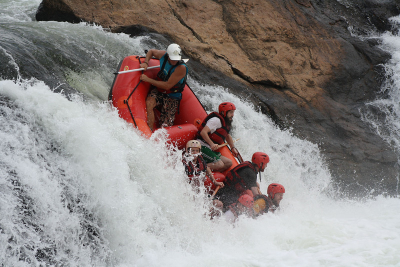 career break travel adventures in Uganda, rafting the nile in Uganda