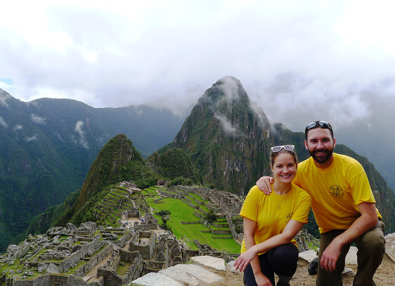 career break travel, machu picchu, rtw travel, landing standing
