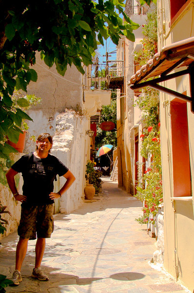 career break travel adventures in Greece, jeff jung