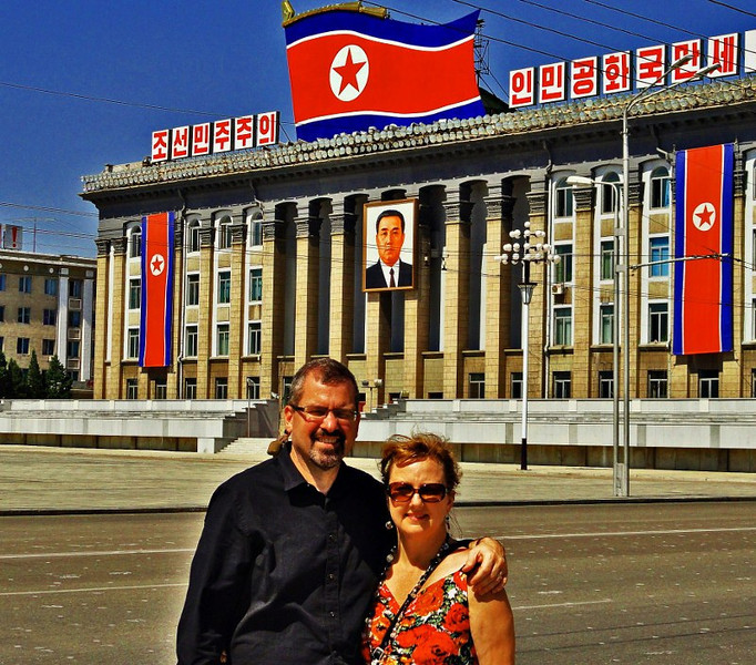 career break travel in North Korea, Changes in Longitude, Michael and Larissa Milne